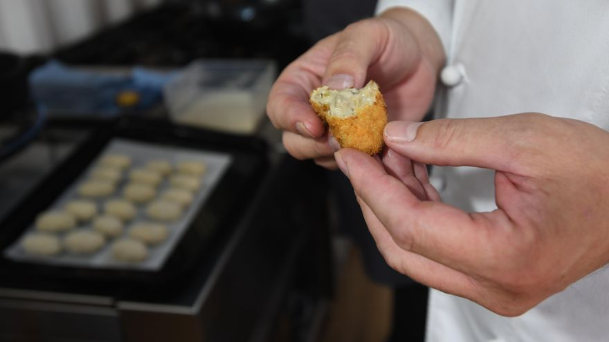 Insectos, el ingrediente secreto del chef murciano González Conejero