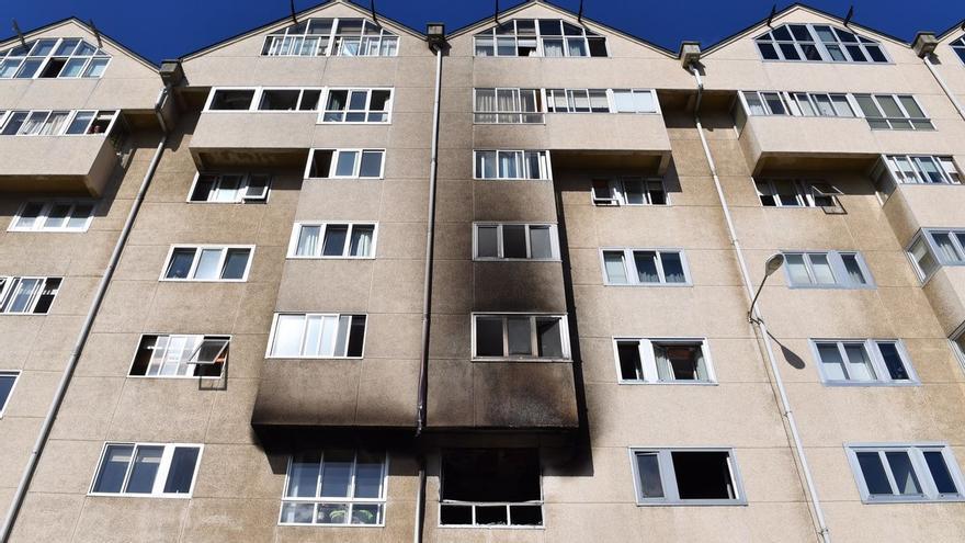 Una mujer de 66 años muere víctima de un incendio en una vivienda de A Coruña