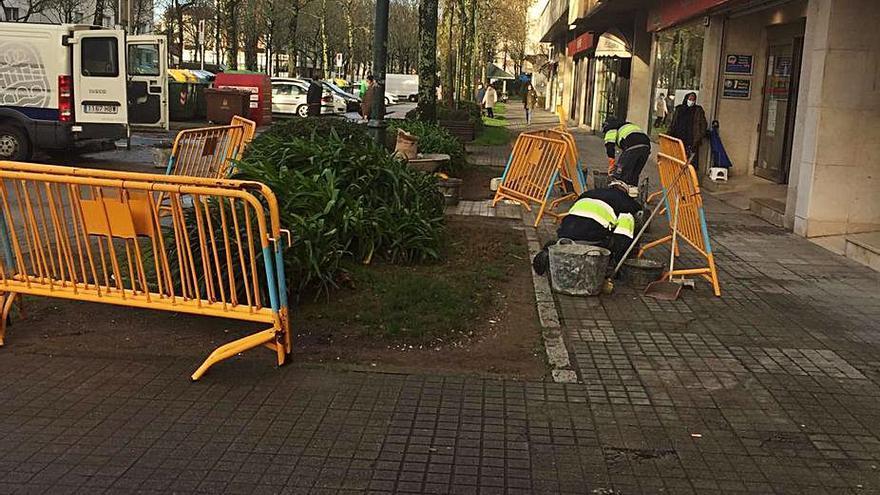 El Concello pasa revista a los principales itinerarios peatonales de la ciudad