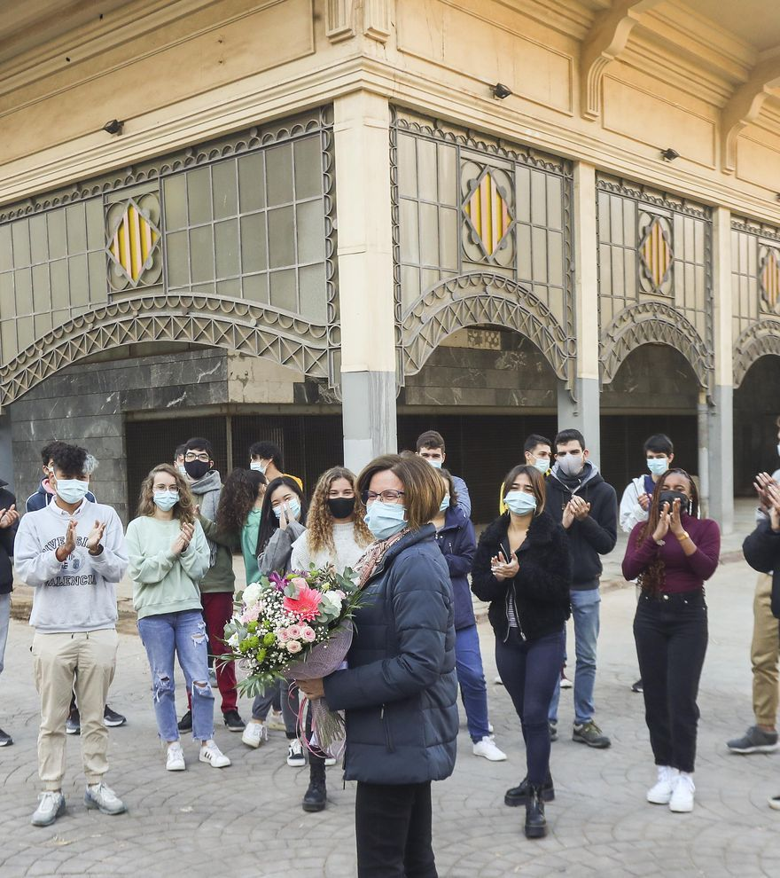 Constancia Cárceles, IES Abastos de València