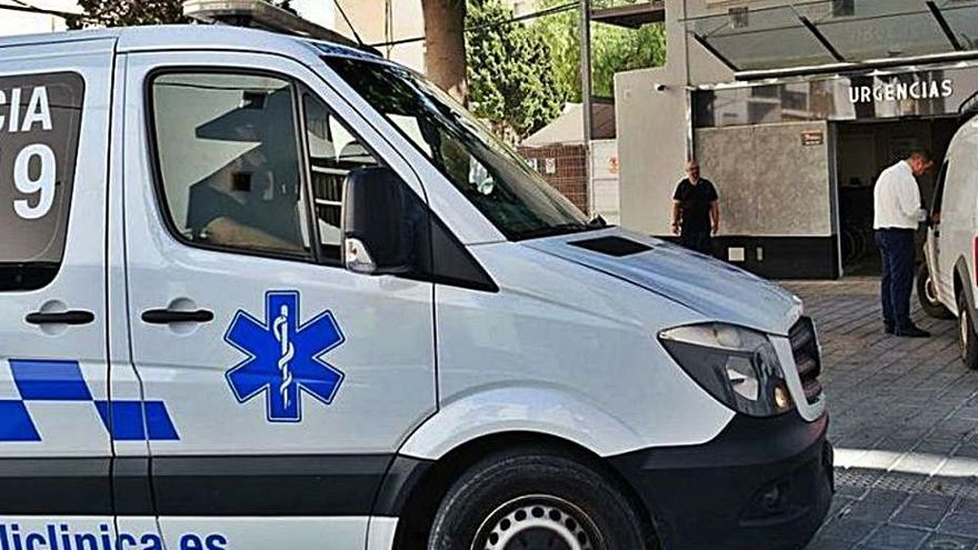 Dos accidentes de tráfico en Ibiza con cuatro heridos