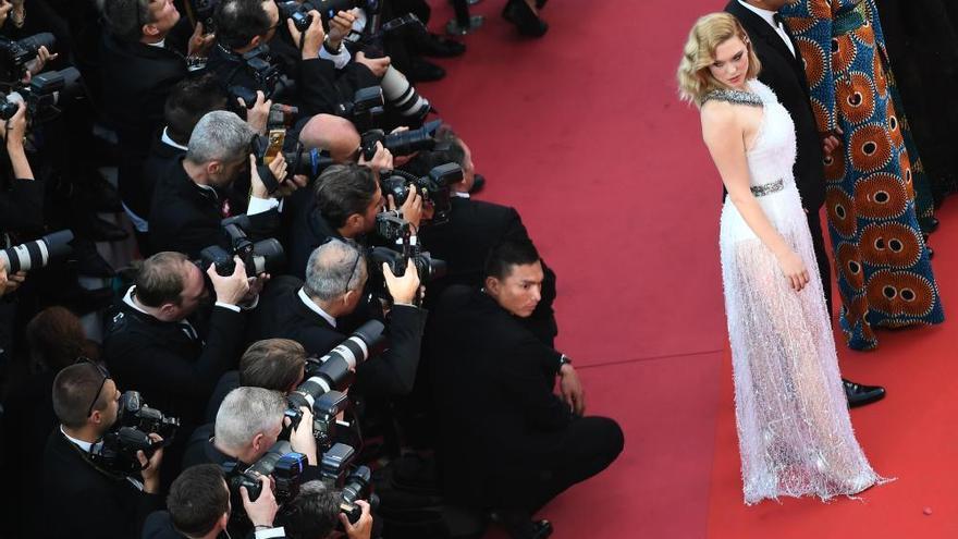 La alfombra roja del festival de Cannes
