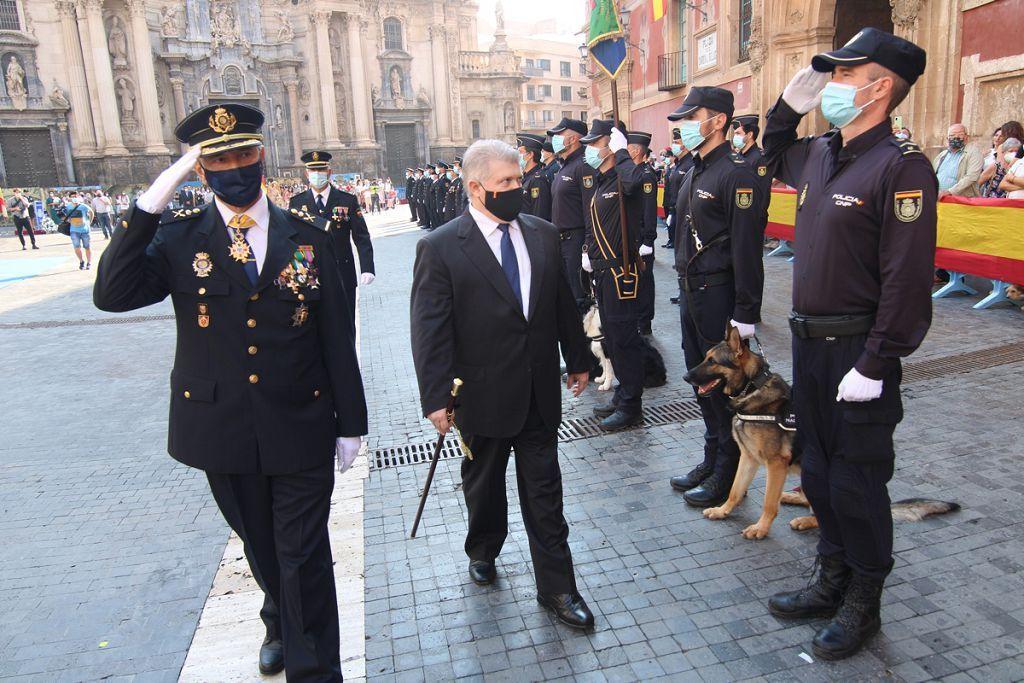 Acto de las Fuerzas del Orden en Murcia