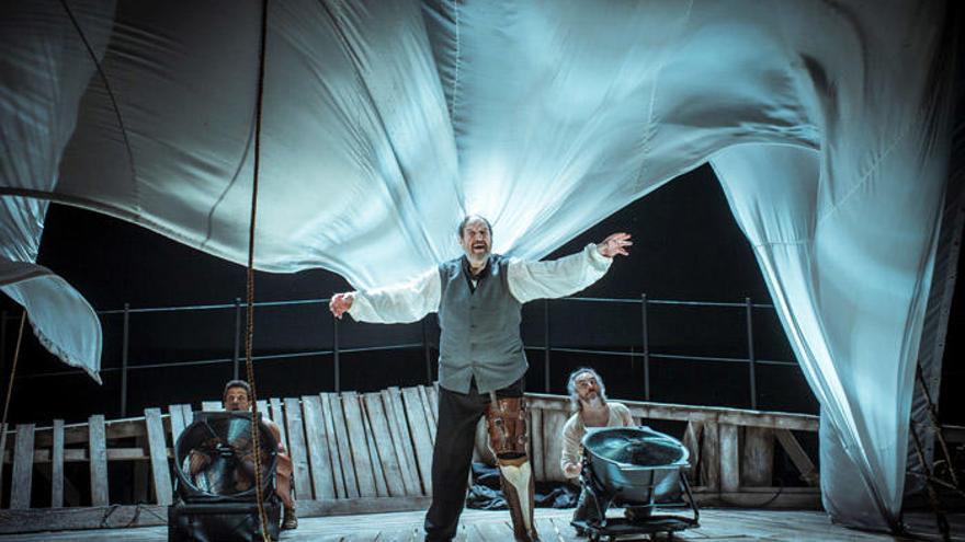 Festival de Teatro: José María Pou, José Sacristán, El Brujo...