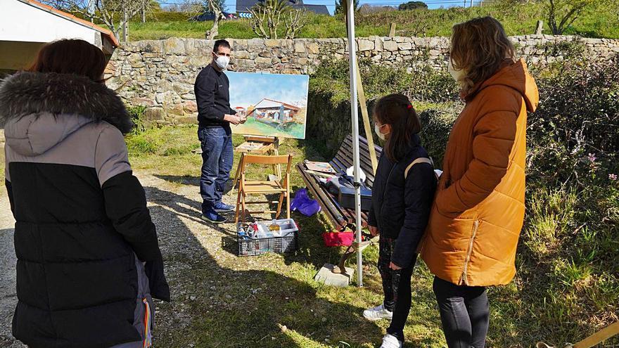 Trasdeza Pinta O Camiño remata o 17 cunha exposición e un foro