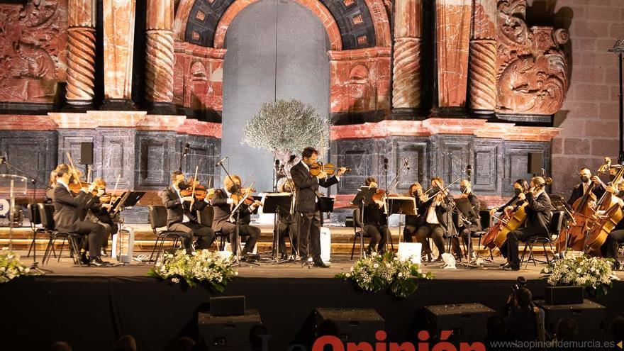 Concierto homenaje a las víctimas de la Covid-19 en la Basílica de Caravaca