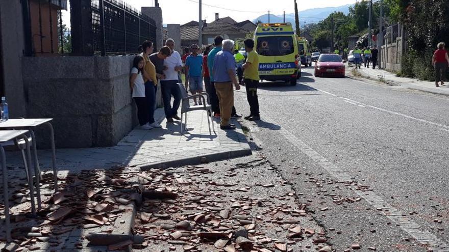 Quatre morts i 12 ferits en una explosió de material pirotècnic a Pontevedra