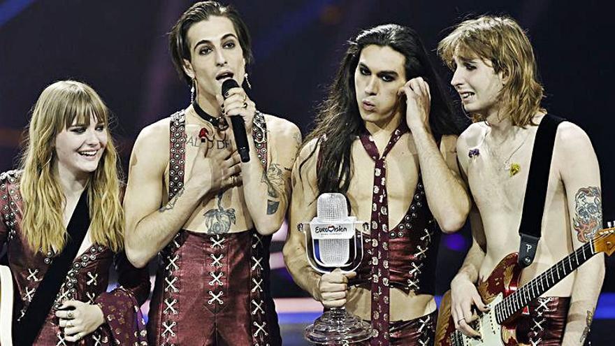 Una banda holandesa acusa de plagio a los ganadores de Eurovisión