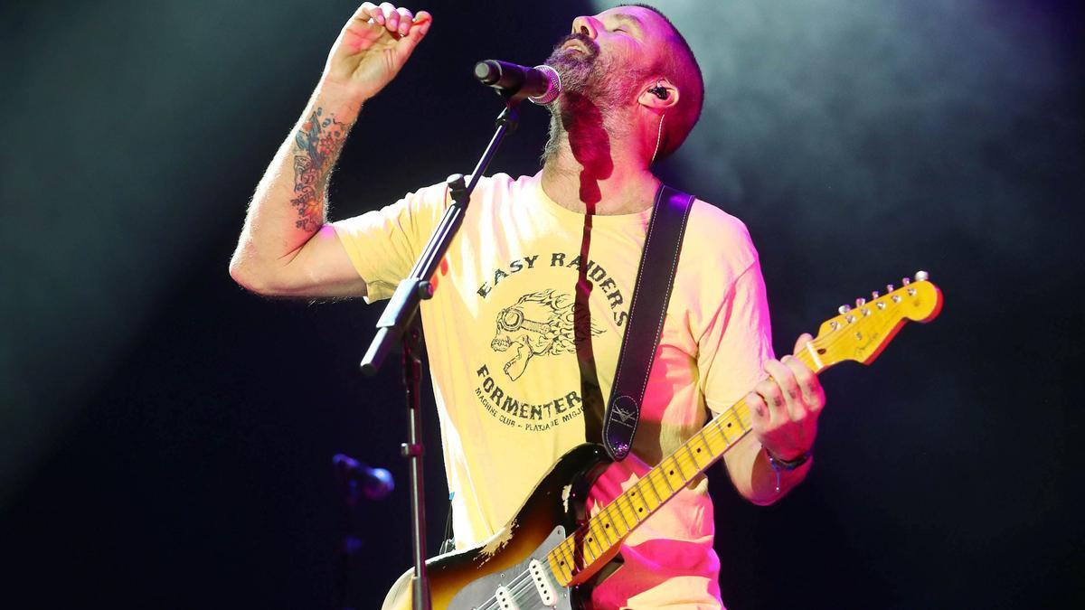 Pau Donés en un concert al festival de Cap Roig el 2018.