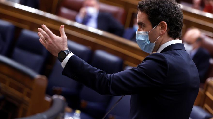 """García Egea: """"La única anormalidad democrática es la coalición PSOE-Podemos"""""""