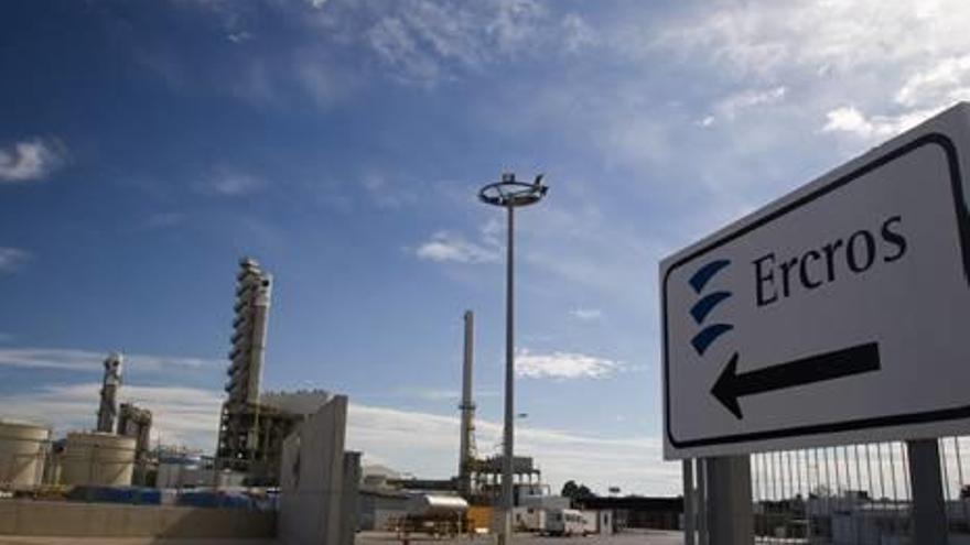 Ercros reduce  un 49 % su índice de emisiones en el último año