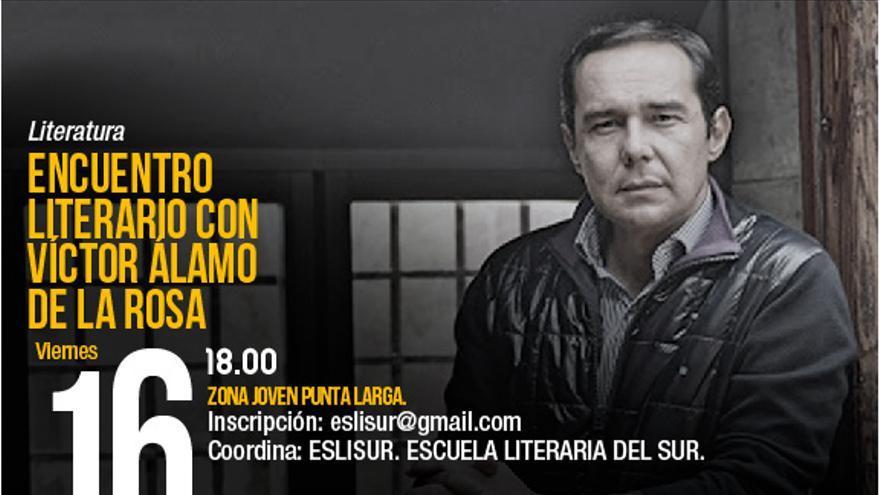 Encuentro literario con Víctor Álamo de la Rosa