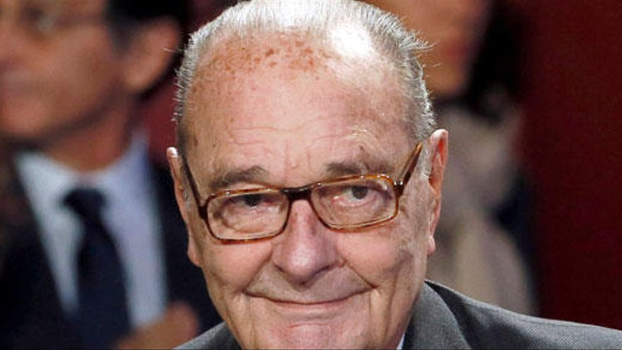 El expresidente francés Jacques Chirac, hospitalizado