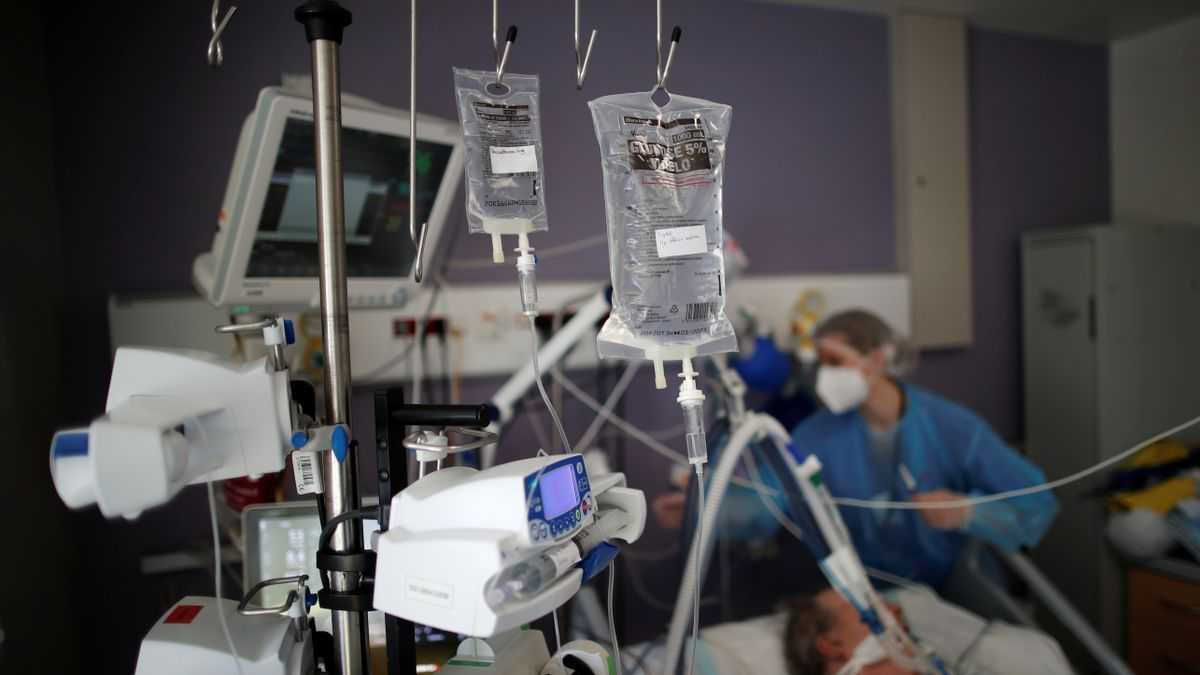 Una imagen de un hospital de París.