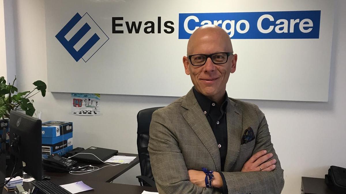 Director general. El zaragozano Pedro López es el máximo responsable de Ewals Cargo Care en España y Portugal.