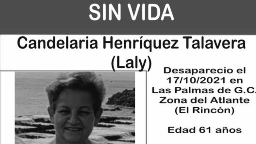 Hallan sin vida a la mujer desaparecida en Las Palmas de Gran Canaria