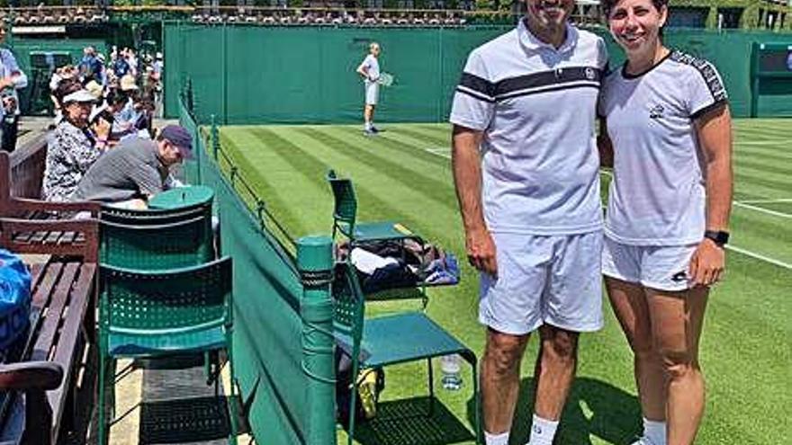 """Carla Suárez: """"Hay que valorar lo difícil que es Wimbledon"""""""