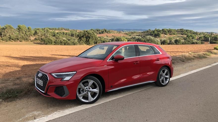 Prueba del Audi A3 Sportback, revolución tecnológica