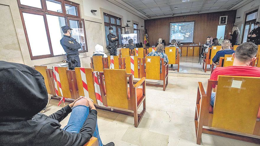 El fiscal pide 182 años de prisión para los 29 acusados en el macrojuicio de drogas de Palma