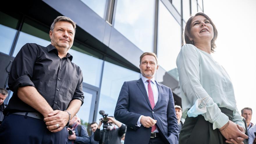 Los Verdes alemanes proponen formar gobierno con liberales y socialdemócratas