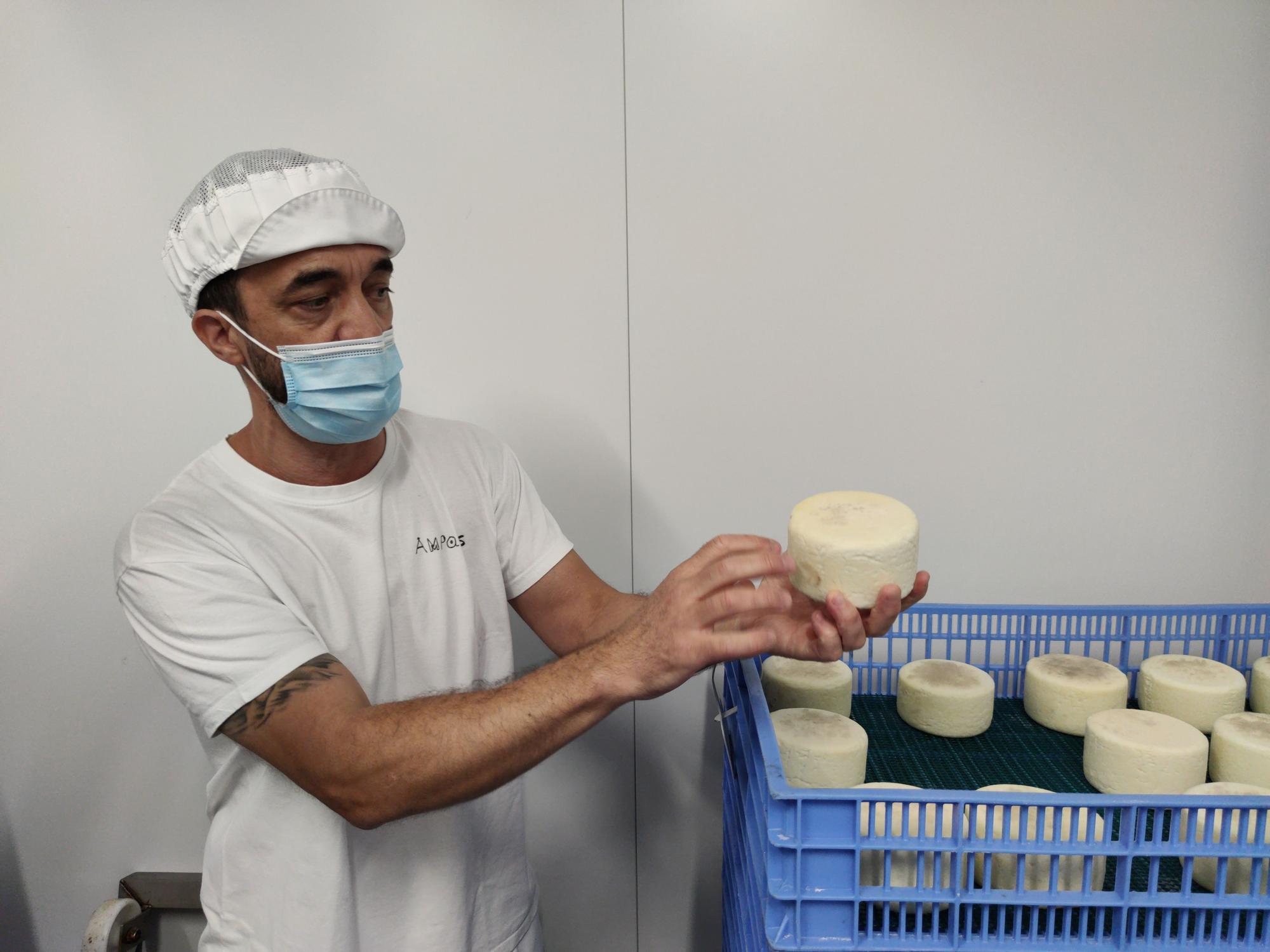Ampansrenova la imatge de marca de la formatgeria Montanyola