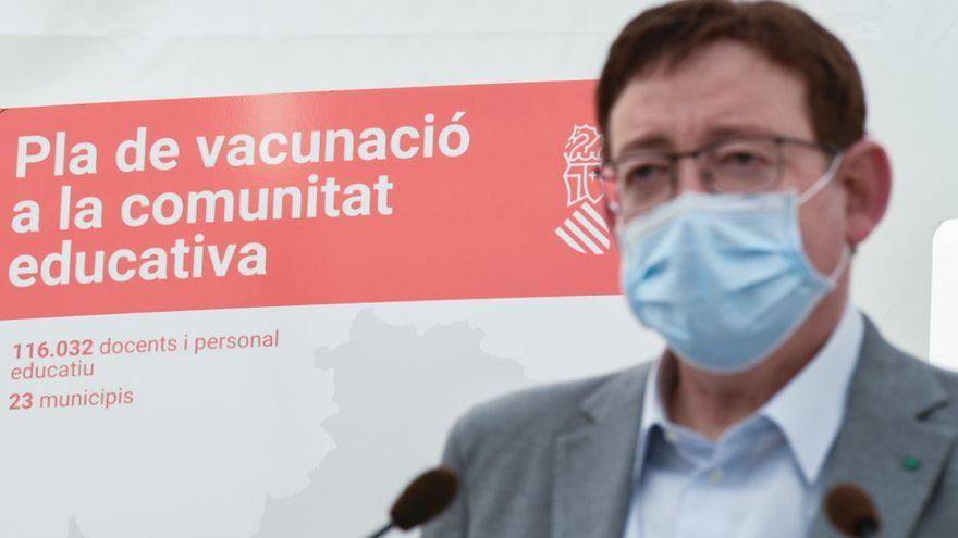 Puig asegura que el 70% de los valencianos tendrán la pauta completa de vacunación la tercera semana de agosto