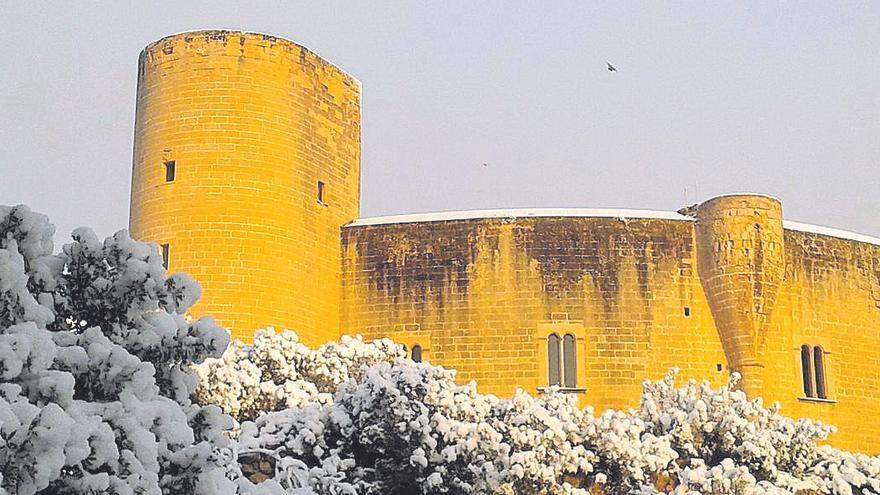 'Fred de neu' en Baleares