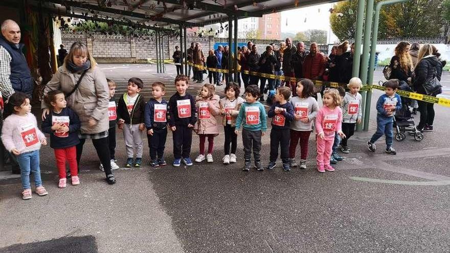 El colegio poleso Peña Careses corre por una buena causa