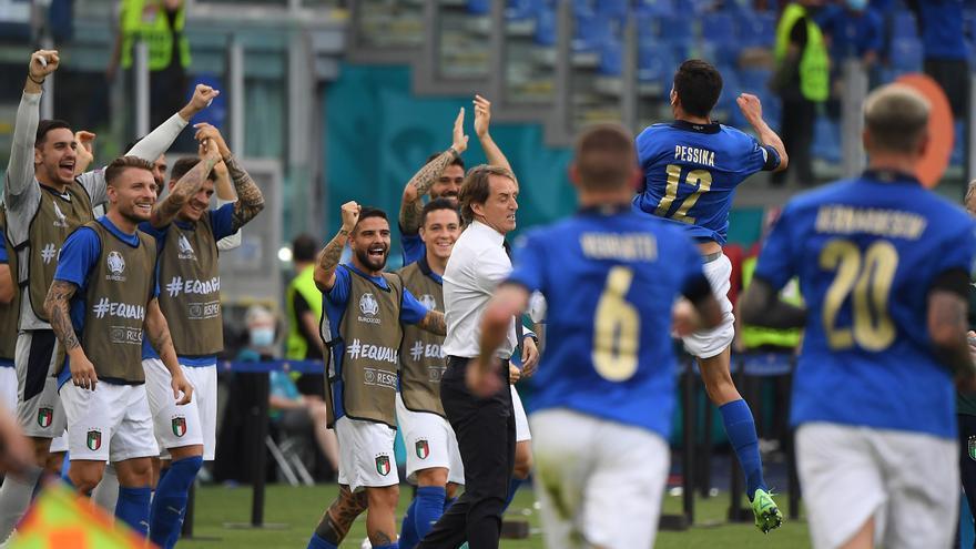 Itàlia fa ple i Suïssa acaba tercera per darrere de Gal·les