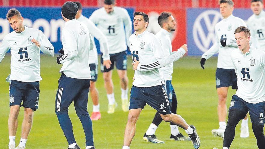 Luis Enrique no tomará riesgos con Gerard Moreno