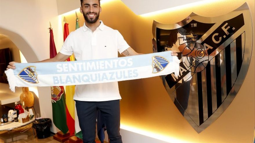 Juande renueva con el Málaga CF hasta 2024