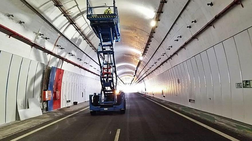 "Transportes niega que las obras del túnel de A Cañiza estén paradas: ""Siguen a ritmo urgente"""