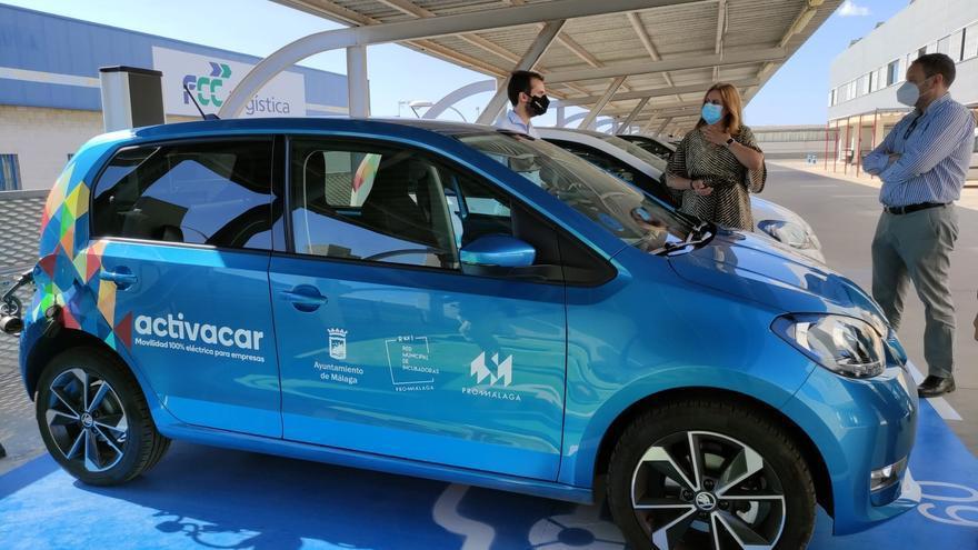 Promálaga I+D ofrece a las empresas incubadas coche eléctrico gratuito
