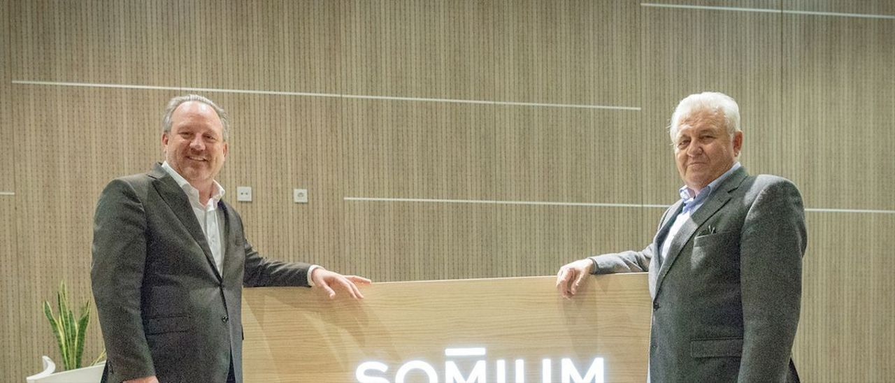 Los responsables del Grupo Marjal, Javier Fur y Francisco Gómez.