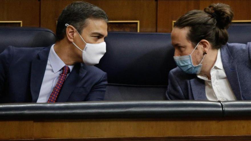 La Moncloa afirma que hi ha acord entre Sánchez i Iglesias sobre els canvis en el govern espanyol
