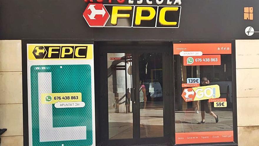 FPC, l'autoescola de referència, obre un nou centre a tocar la Rambla de Figueres