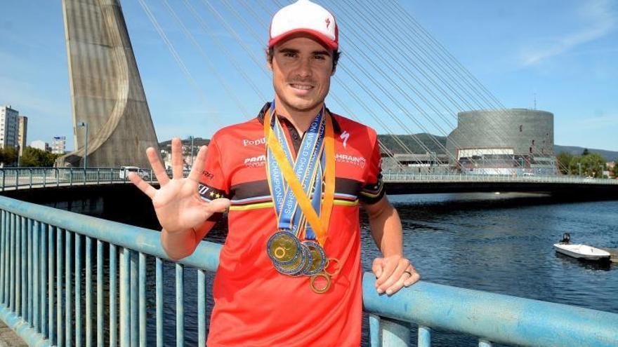Gómez Noya representará a Pontevedra en los Juegos Olímpicos de Tokio