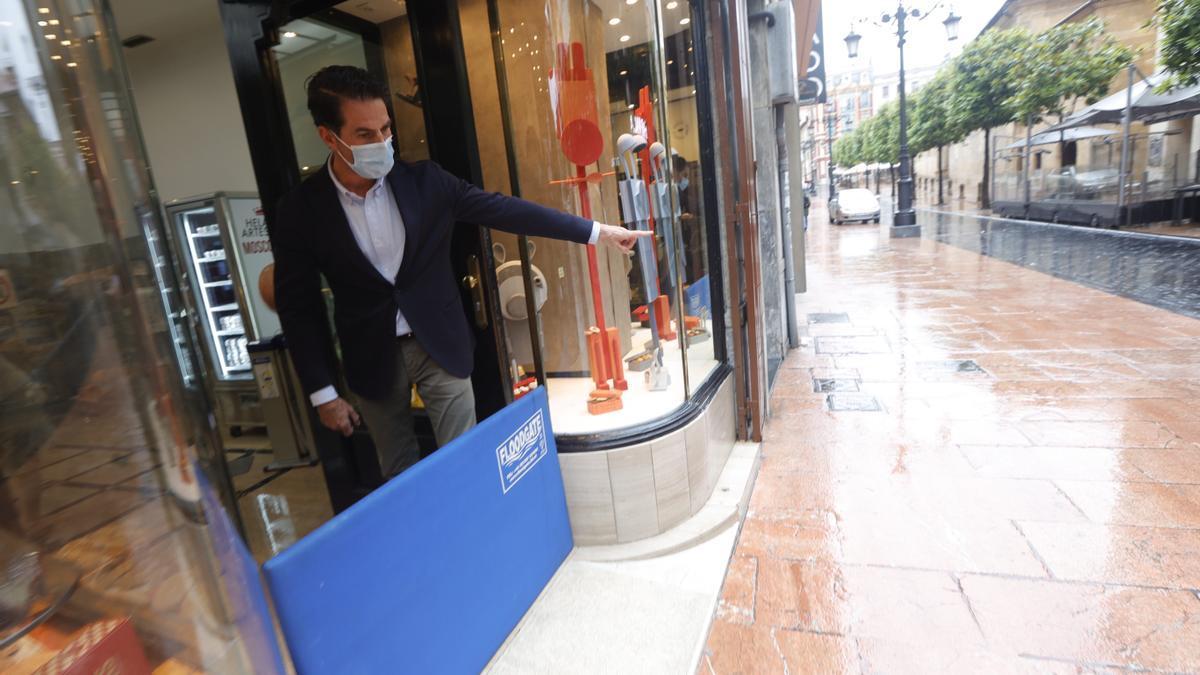 Las imágenes que resumen los efectos de la tormenta en Oviedo