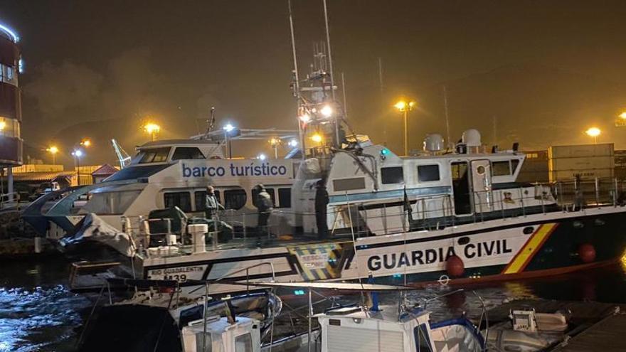 Un muerto y un desaparecido al caer al mar desde una patera en Cartagena