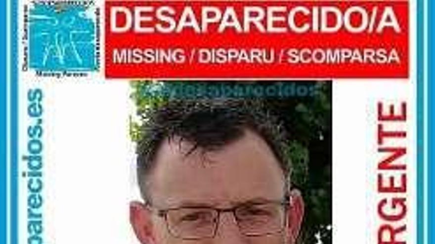 Se busca a un coruñés de 43 años que desapareció el 21 de febrero