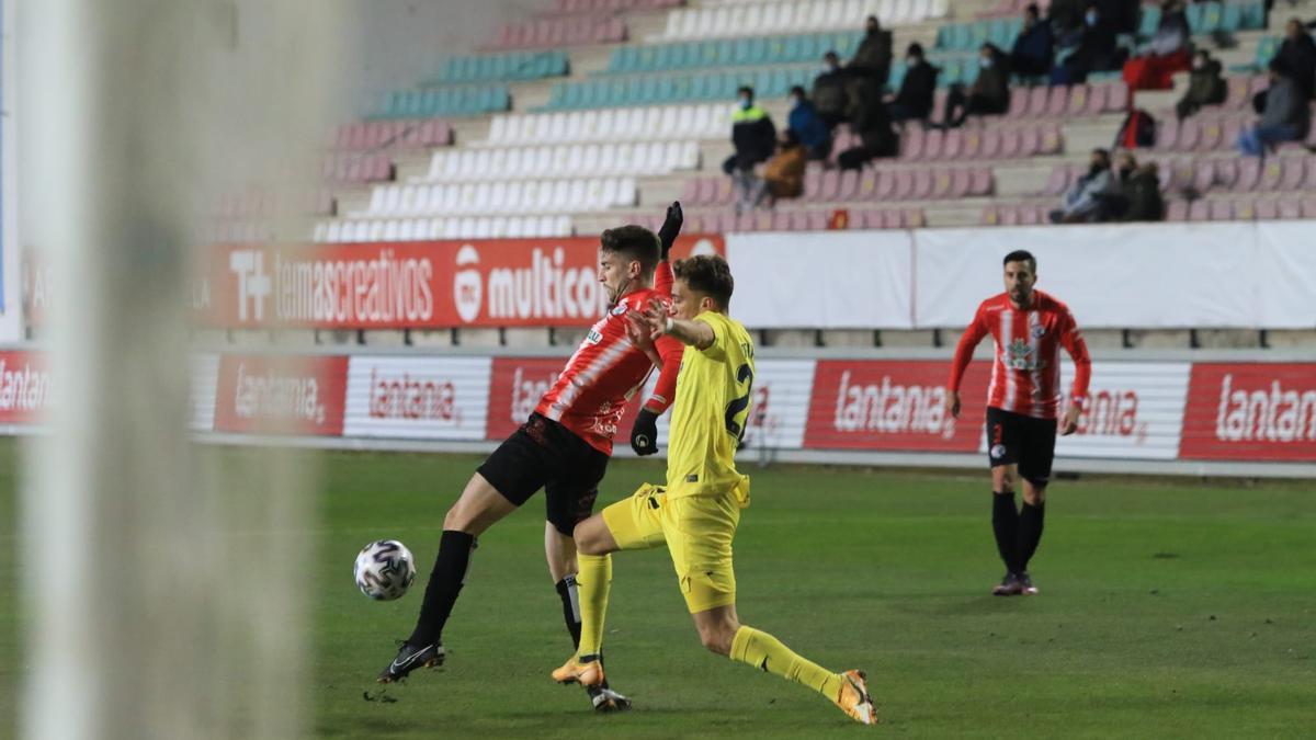 El Zamora - Villarreal, en imágenes.