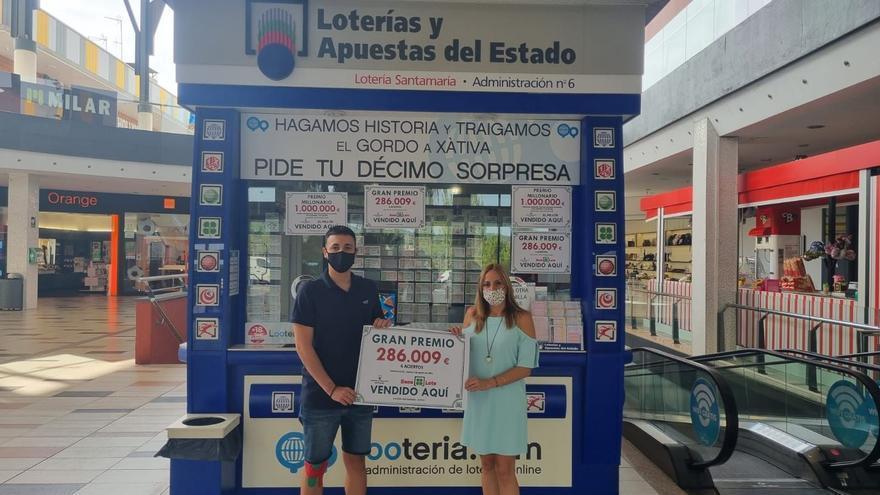 El primer premio de la Bonoloto cae en Xàtiva