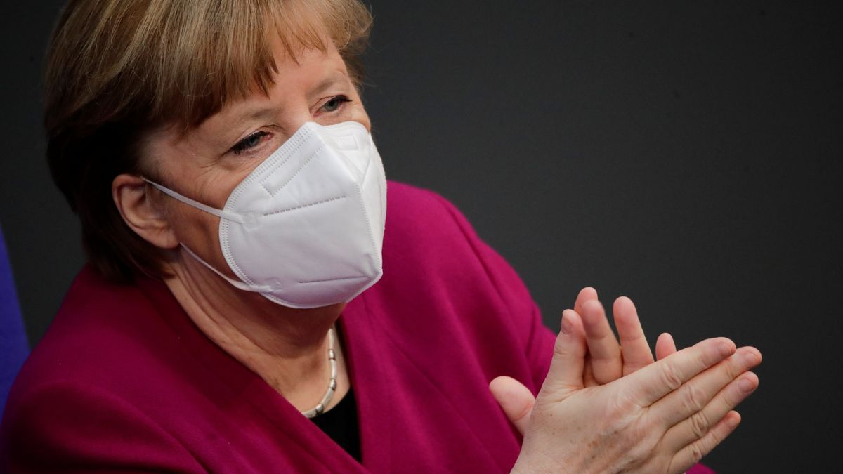 Angela Merkel, cancillera alemana