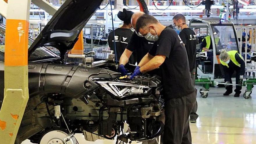 Seat cancel·larà a finals de maig l'ERTO per augmentar el ritme de producció