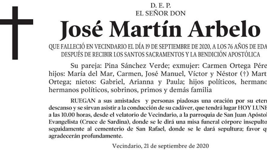 José Martín Arbelo
