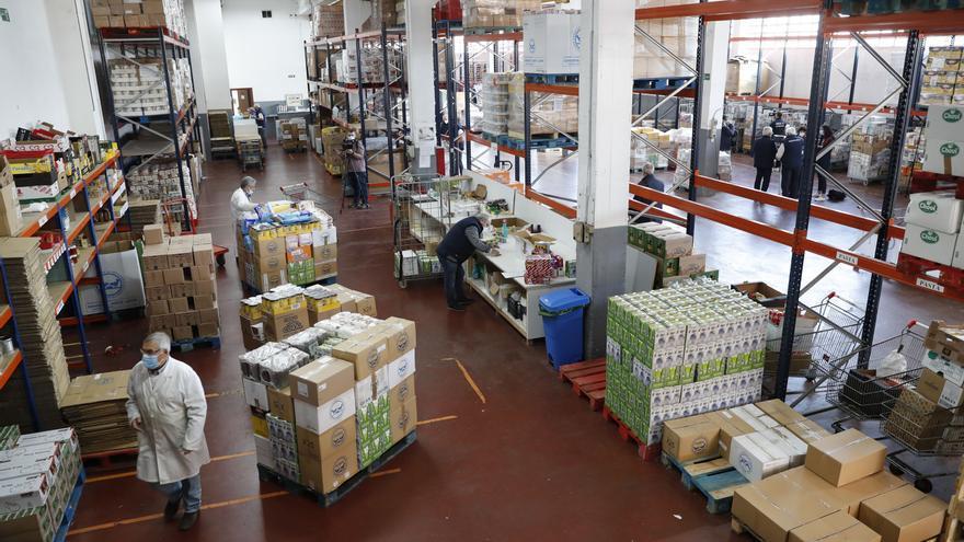 """El Banco de Alimentos lanza su Gran Recogida ante una situación que """"se agrava día a día"""""""