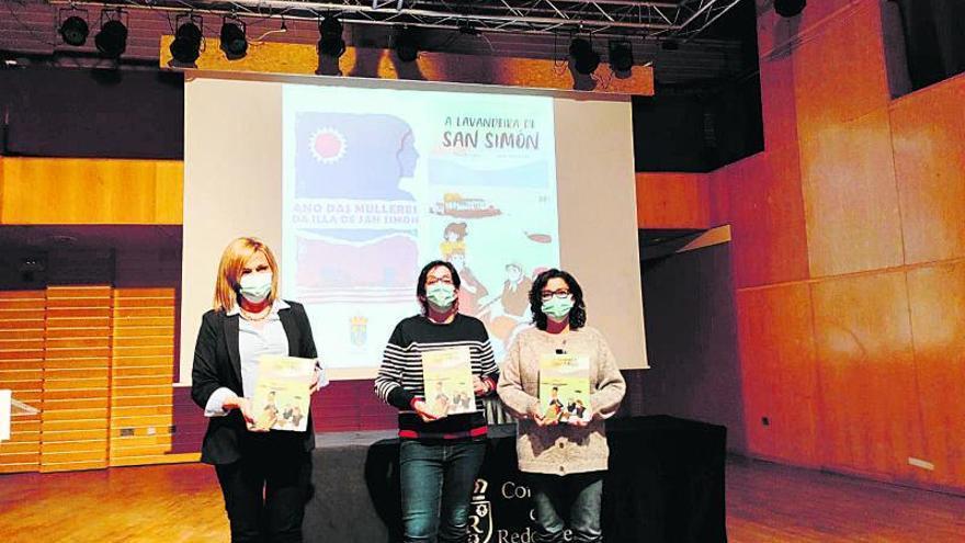 """Eva Mejuto presenta """"A lavandeira de San Simón"""" en Redondela"""