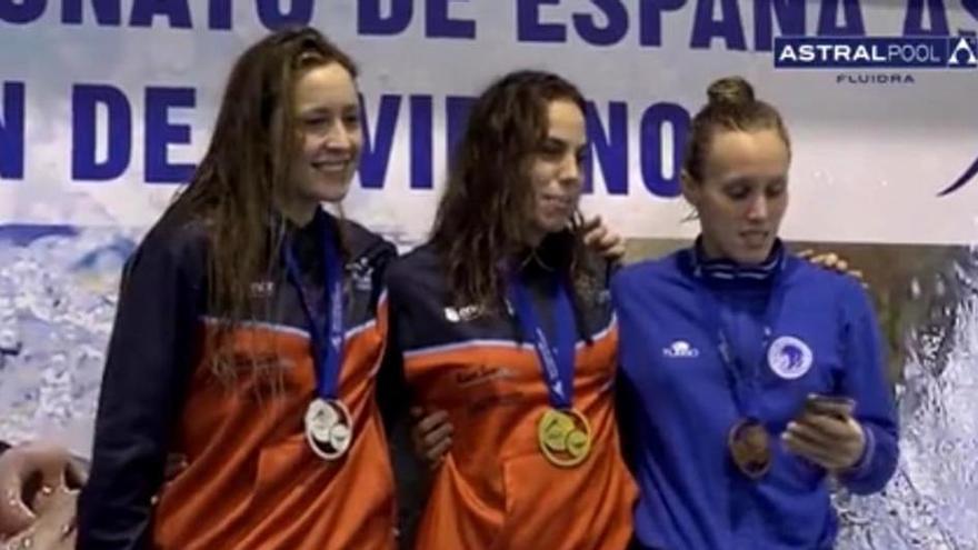 María Vilas, campeona de España, y Bea Gómez, subcampeona