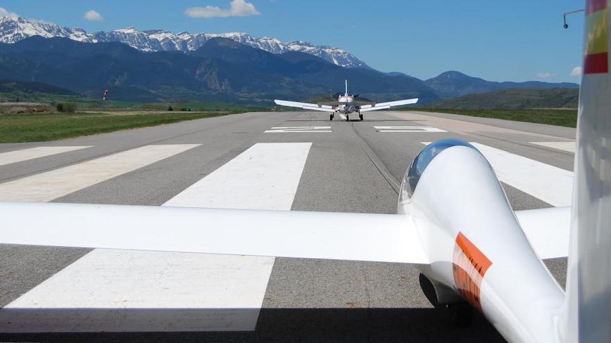 L'aeròdrom de la Cerdanya completa la represa amb tots els serveis de vol