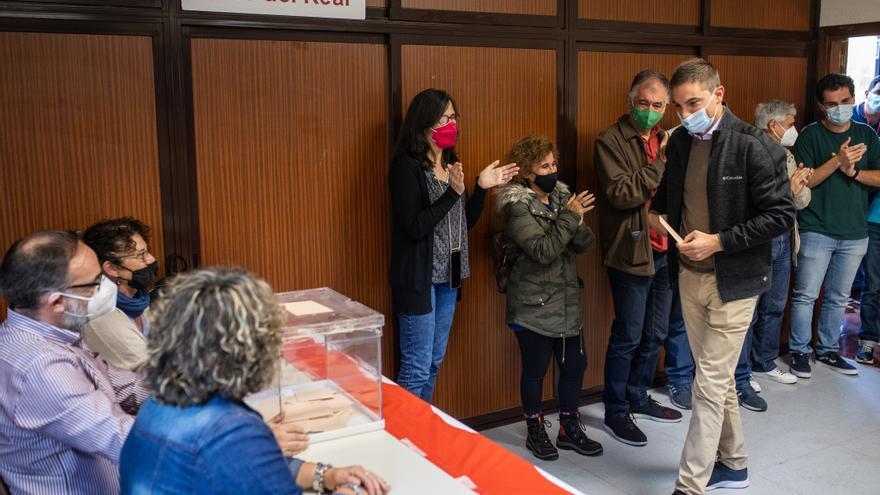 La militancia elige a Juan Lobato como secretario general del PSOE de Madrid